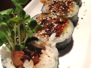 Salmon Skin Sushi Roll